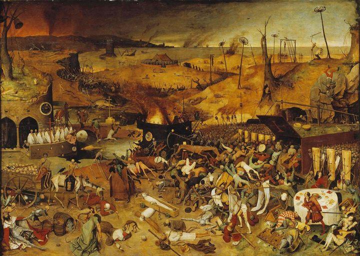 картина Триумф смерти :: Брейгель Питер - Pieter Bruegel de Oude фото