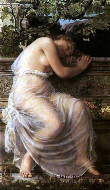 картина Отдых :: Курбе Густав - Gustave Courbe фото
