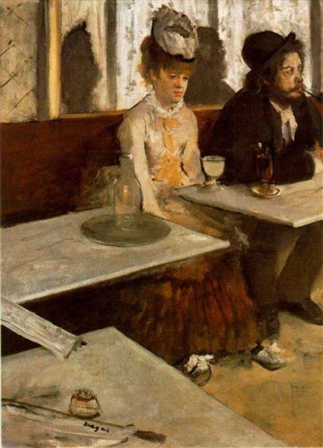 Абсент, Эдгар Дега - Edgar Degas фото