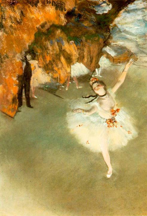 Звезда, Эдгар Дега - Edgar Degas фото