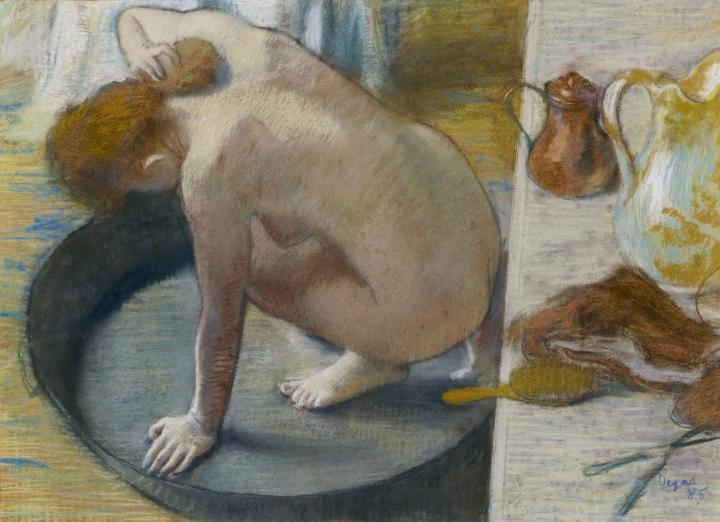 Лохань, Эдгар Дега - Edgar Degas фото