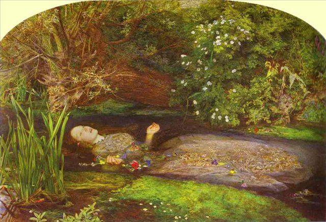 Офелия, Миллес - Millais, John Everett фото