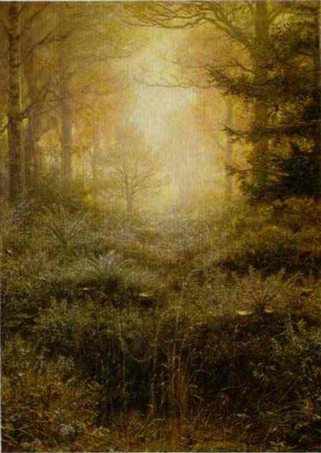 Пропитанный росой Дрок - Millais, John Everett фото