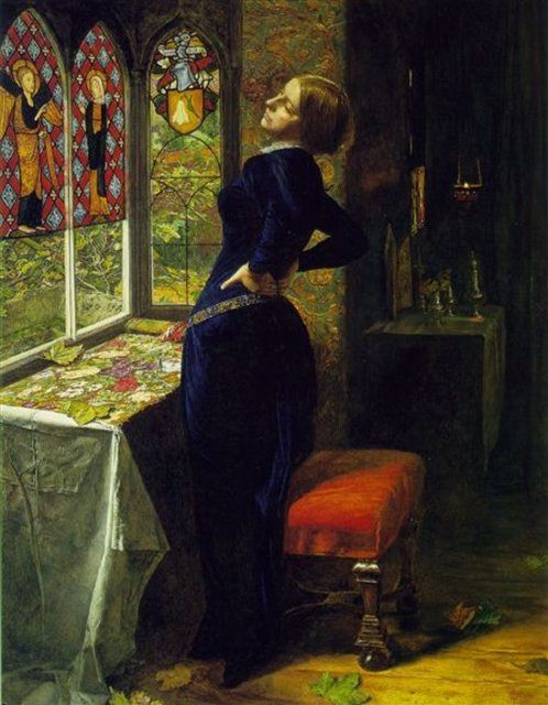 Марианна - Millais, John Everett фото