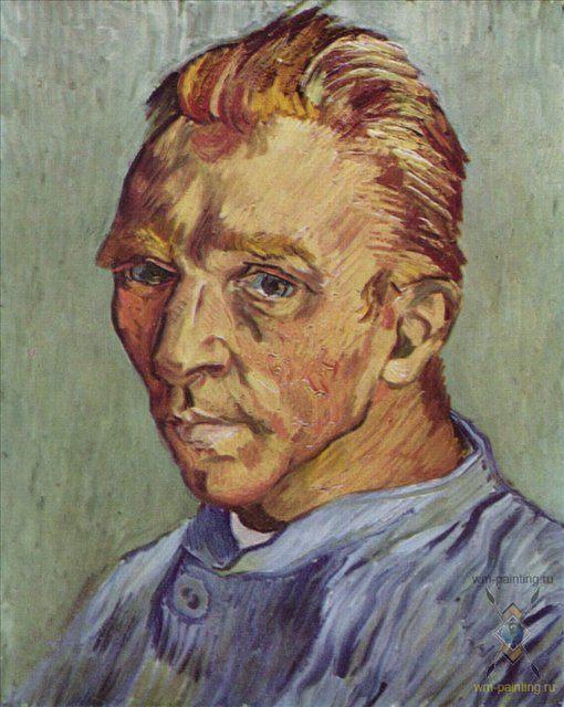 Хронология жизни Ван Гога, автопортрет - Van Gogh фото