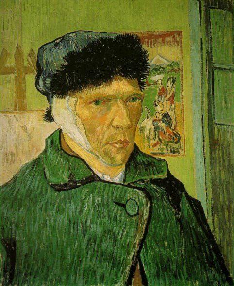 Автопортрет с перевязанным ухом :: Ван Гог - Van Gogh фото