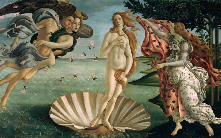 картина Рождение Венеры :: Боттичелли Сандро  - Sandro Botticelli фото