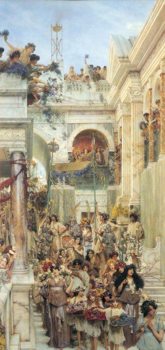 картина Весна :: Альма-Тадема - Lourens Alma Tadema фото