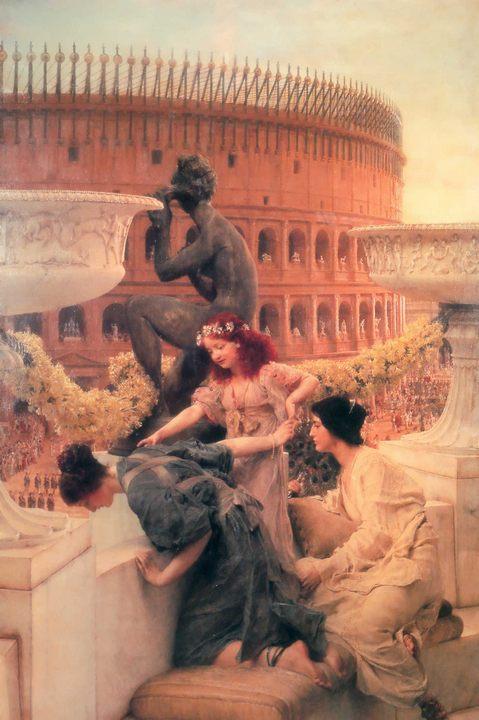 картина <Коллизей> ::  Альма-Тадема, описание картины - Lourens Alma Tadema фото