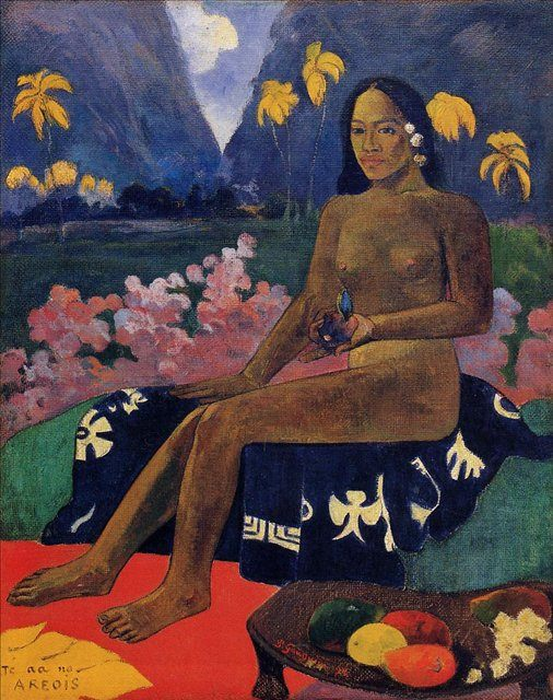 Te Aa No Areois :: Поль Гоген, описание картины - Paul Gauguin фото