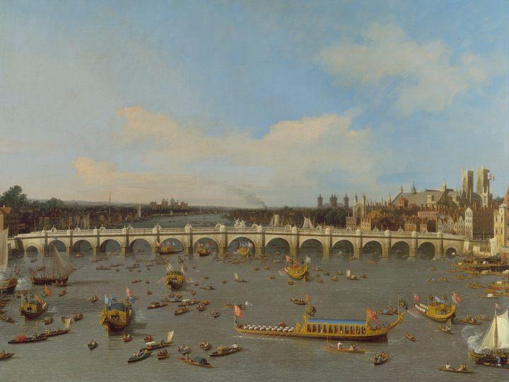 Вестминестерский мост, Лондон, Каналетто - Canalletto фото