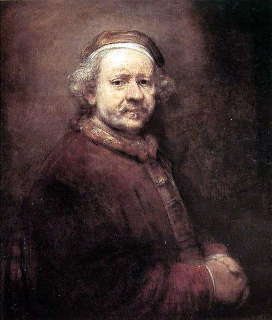 Картины Рембрандта - портреты, мифологическая и жанровая живопись - Rembrandt фото