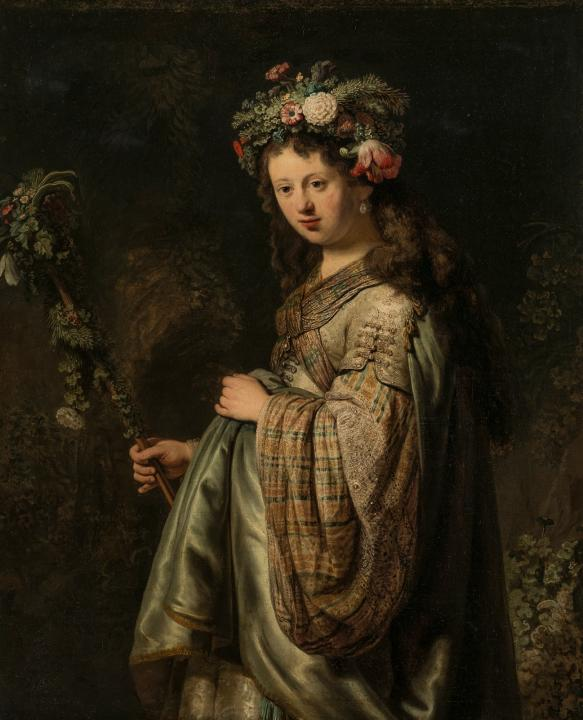 картина Флора :: Рембрандт - Rembrandt фото