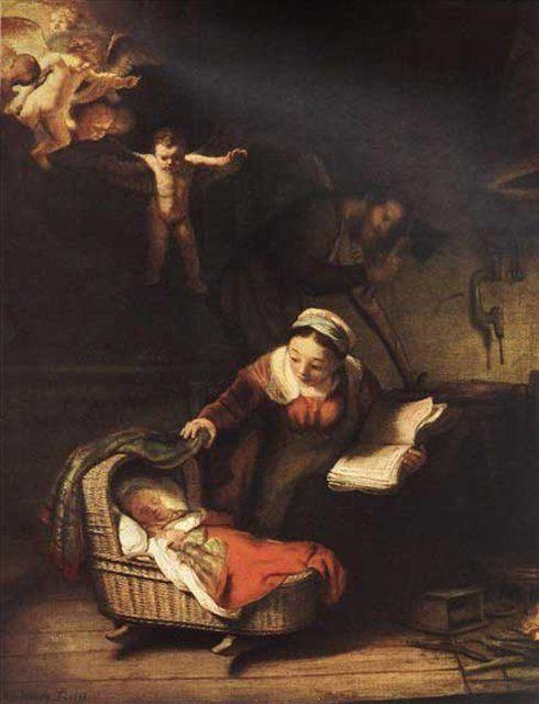 Святое семейство :: Рембрандт ван Рейн - Rembrandt фото
