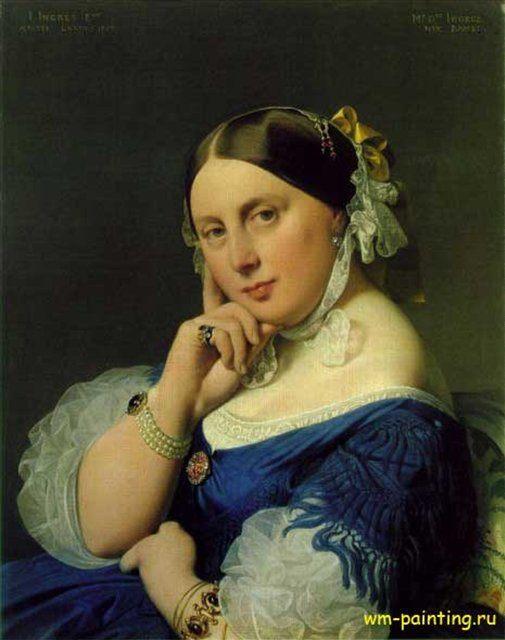 Мадам Энгр - Jean Auguste Dominique Ingres фото