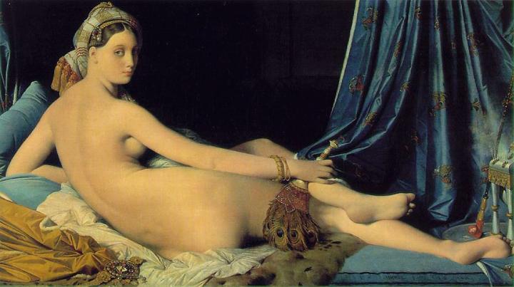 Большая одалиска :: Энгр ( Франция ) - Jean Auguste Dominique Ingres фото