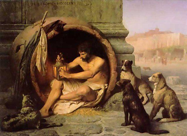 картина Диоген :: Жероме Жан Леон - Gerome Jean-Leon фото