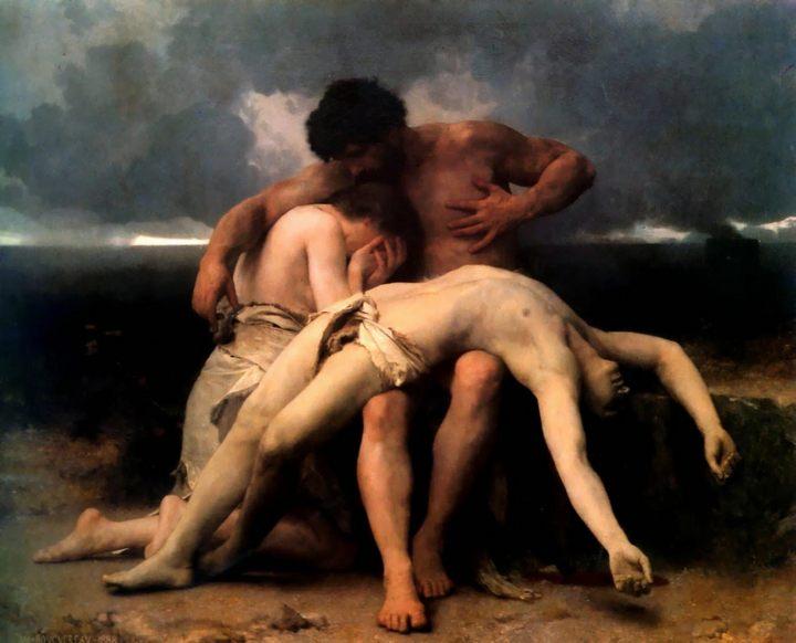 Первое утро, Адольф Бугеро - Adolphe William Bouguereau фото