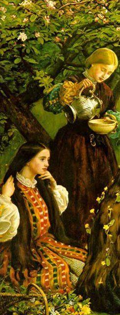 Весна ( деталь ), Милес - Millais, John Everett фото