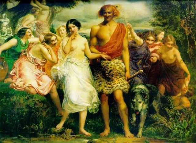 Симон и Ифигения, Джон Эверет Милесс - Millais, John Everett фото