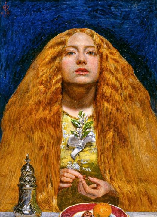 картина <Подружка невесты> :: Джон Эверет Милес - Millais, John Everett фото