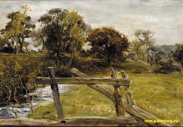 Вид около Хемпстеда, Милесс - Millais, John Everett фото