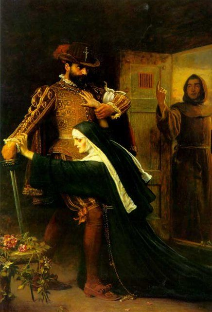 День святого Вафоломеея, Милес,  исторический сюжет - Millais, John Everett фото