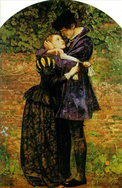 Гугеноты спасаются в одеждах католиков, Милес - Millais, John Everett фото