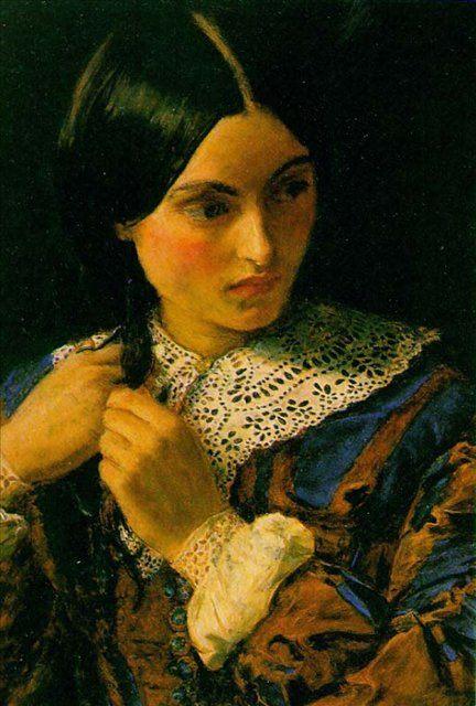 Красавица, Милес - Millais, John Everett фото