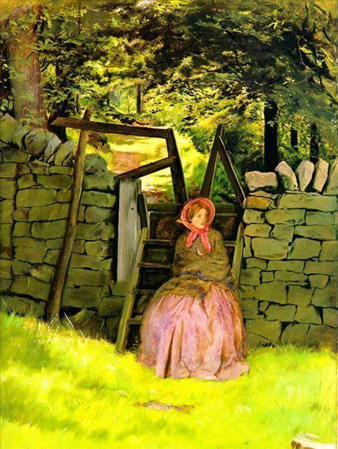 В ожидании, Милес - Millais, John Everett фото