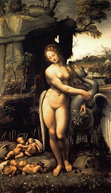 Леда :: Леонардо да Винчи - da Vinci Leonardo фото