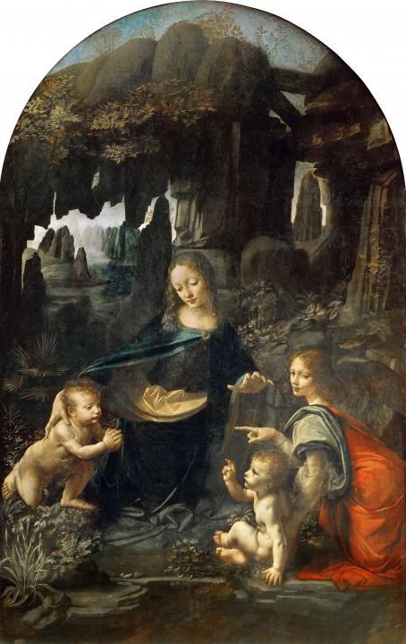 Мадонна в скалах :: Леонардо да Винчи - da Vinci Leonardo фото