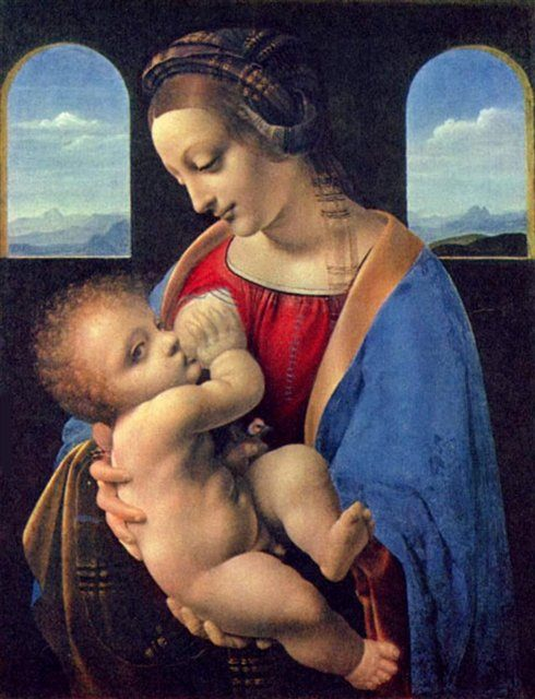 Мадонна Литта :: Леонардо да Винчи - da Vinci Leonardo фото