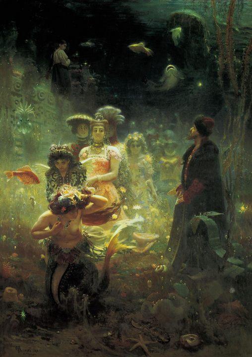 картина Садко :: Репин Илья Ефимович, описание шедевра - Ilya Yefimovich Repin фото
