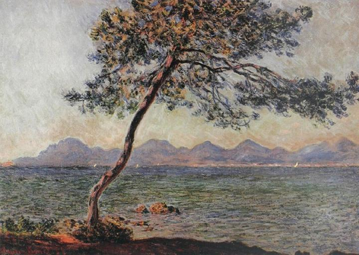 """пейзаж """"Мыс Антиба"""" :: Клод Моне, описание картины - Claude Monet фото"""