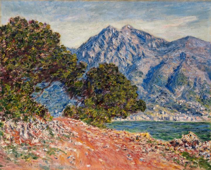 """пейзаж """"Мыс Мартин"""":: Клод Моне, описание картины - Claude Monet фото"""