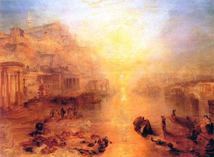 картина Древняя Италия - Овидия изгоняют из Рима:: Уильям Тёрнер - William Turner фото