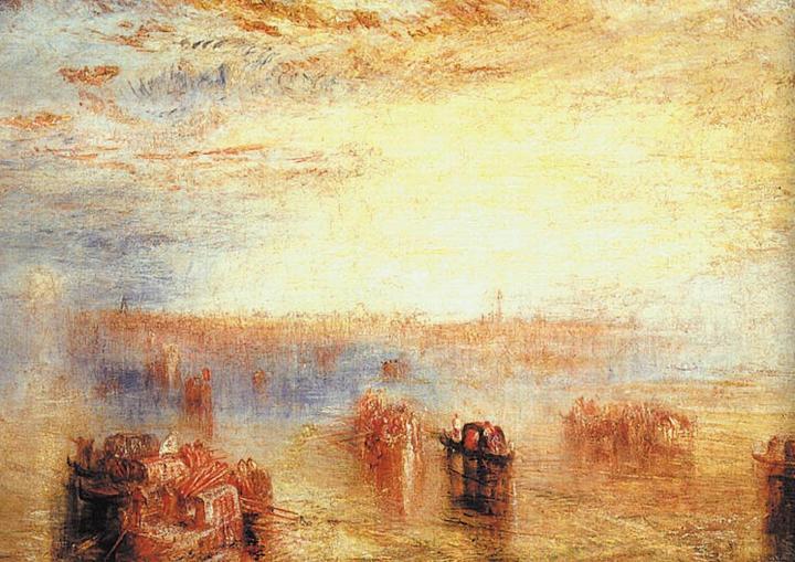 картина Приближение к Венеции:: Уильям Тёрнер - William Turner фото