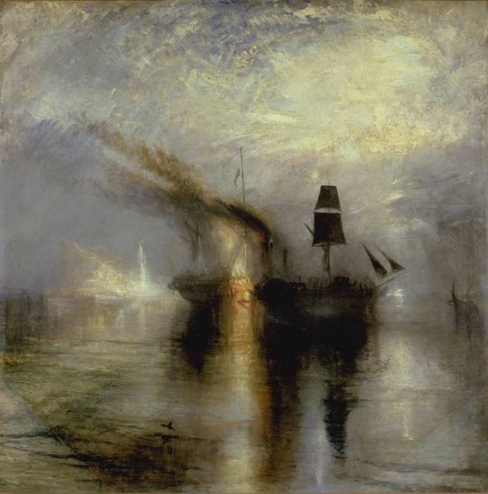 картина Вечный покой. Похороны в море:: Уильям Тёрнер - William Turner фото