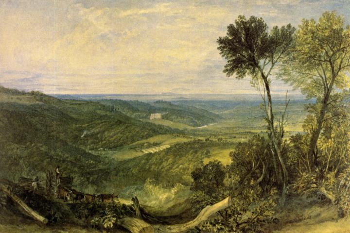 картина Долина Эшбурнхама :: Уильям Тёрнер - William Turner фото