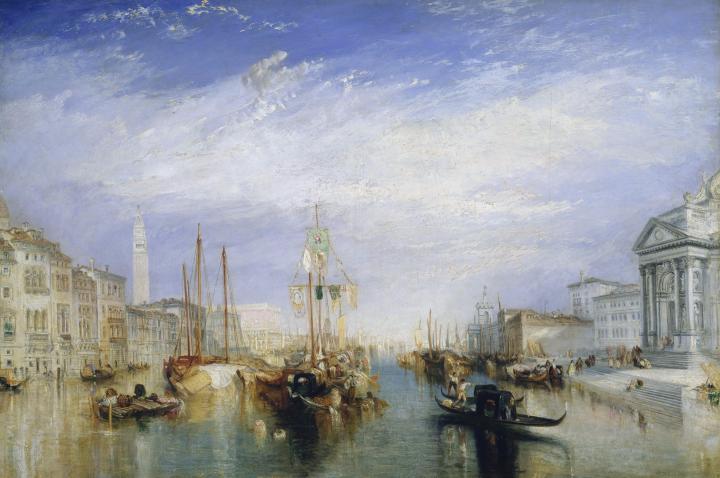картина Большой канал, Венеция :: Уильям Тёрнер - William Turner фото