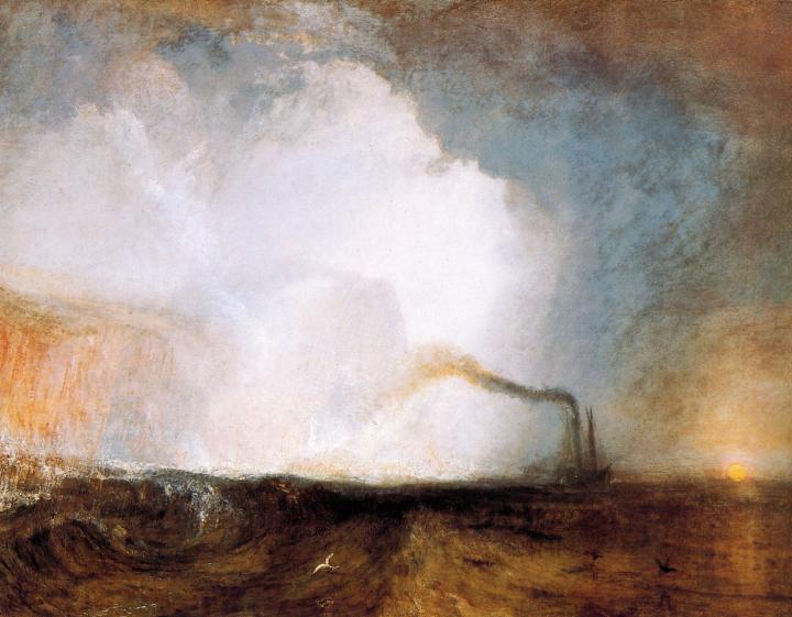 картина Стаффа, пещера :: Уильям Тёрнер - William Turner фото