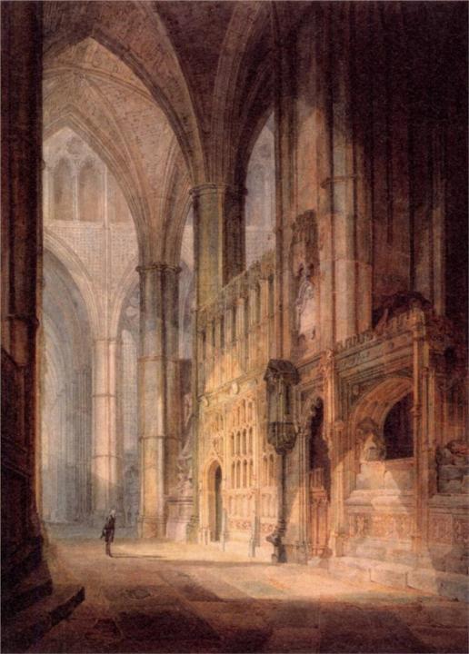 Эразм в капелле епископа, Вестмистерское аббатство :: Уильям Тёрнер - William Turner фото