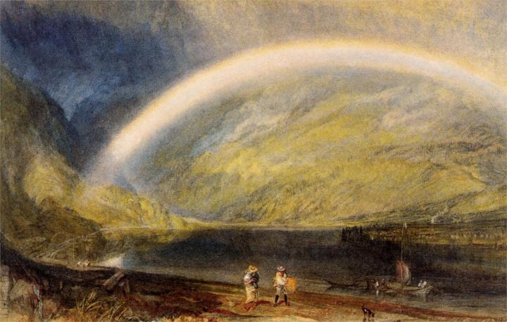 картина Радуга :: Уильям Тёрнер - William Turner фото