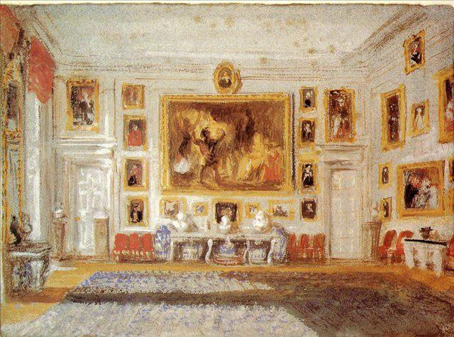 картина Петворт - гостиная :: Уильям Тёрнер - William Turner фото