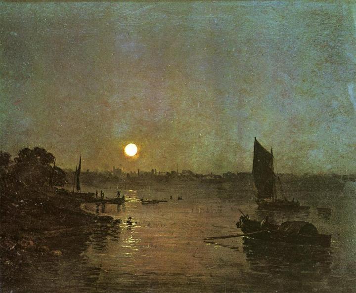 картина Лунный свет :: Уильям Тёрнер - William Turner фото