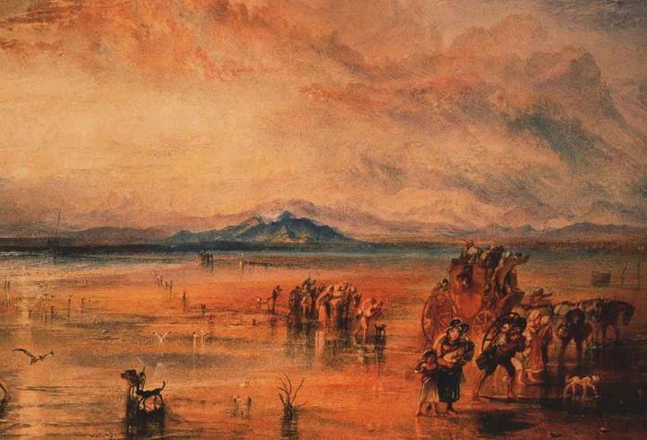 картина < Ланкастерские пески >:: Уильям Тёрнер ( William Turner ) - William Turner фото
