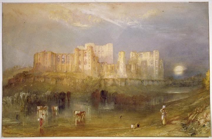 картина < замок Кенилворт >:: Уильям Тёрнер ( William Turner ) - William Turner фото
