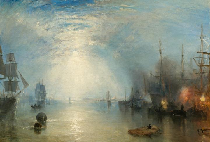картина < горящий уголь в ночи >:: Уильям Тёрнер ( William Turner ) - William Turner фото
