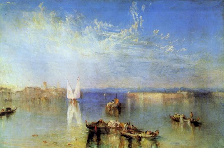 картина < Кампо Санто, Венеция >:: Уильям Тёрнер ( William Turner ) - William Turner фото